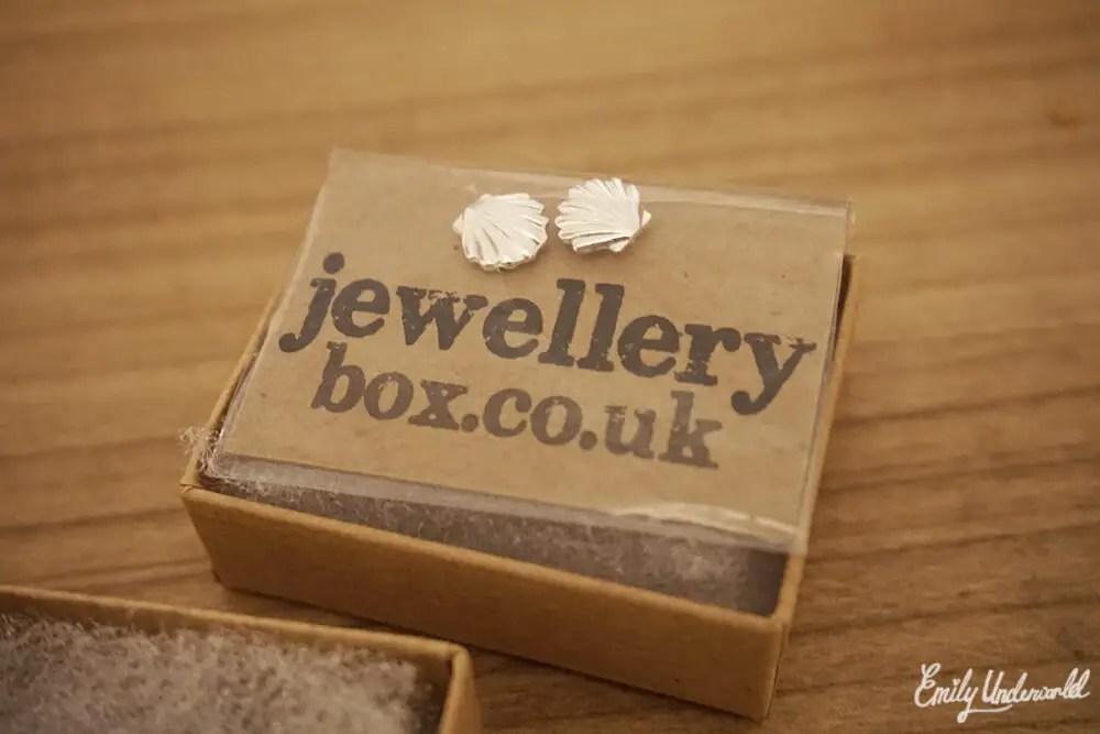 Jewellery Box Seashell Earrings