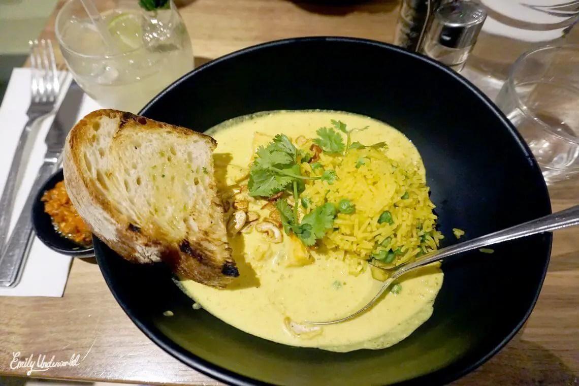 Mildred's vegan curry