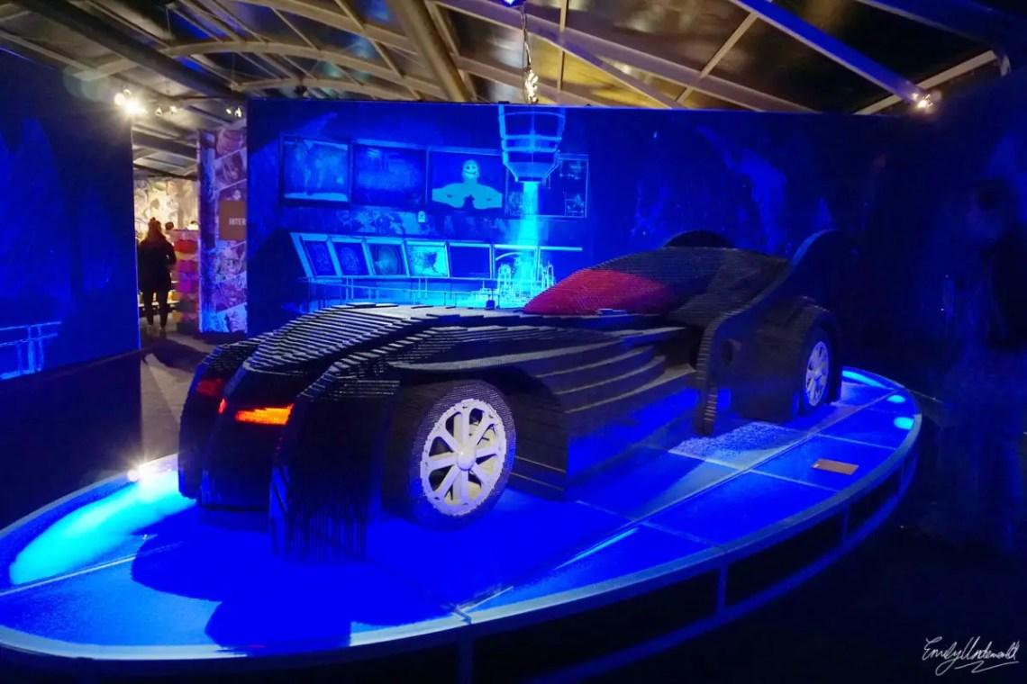 batman lego car