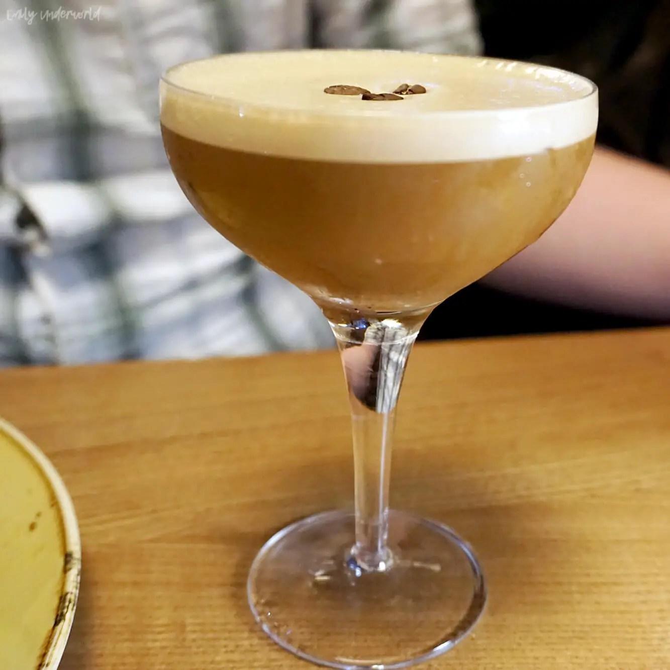 Giraffe Espresso Martini