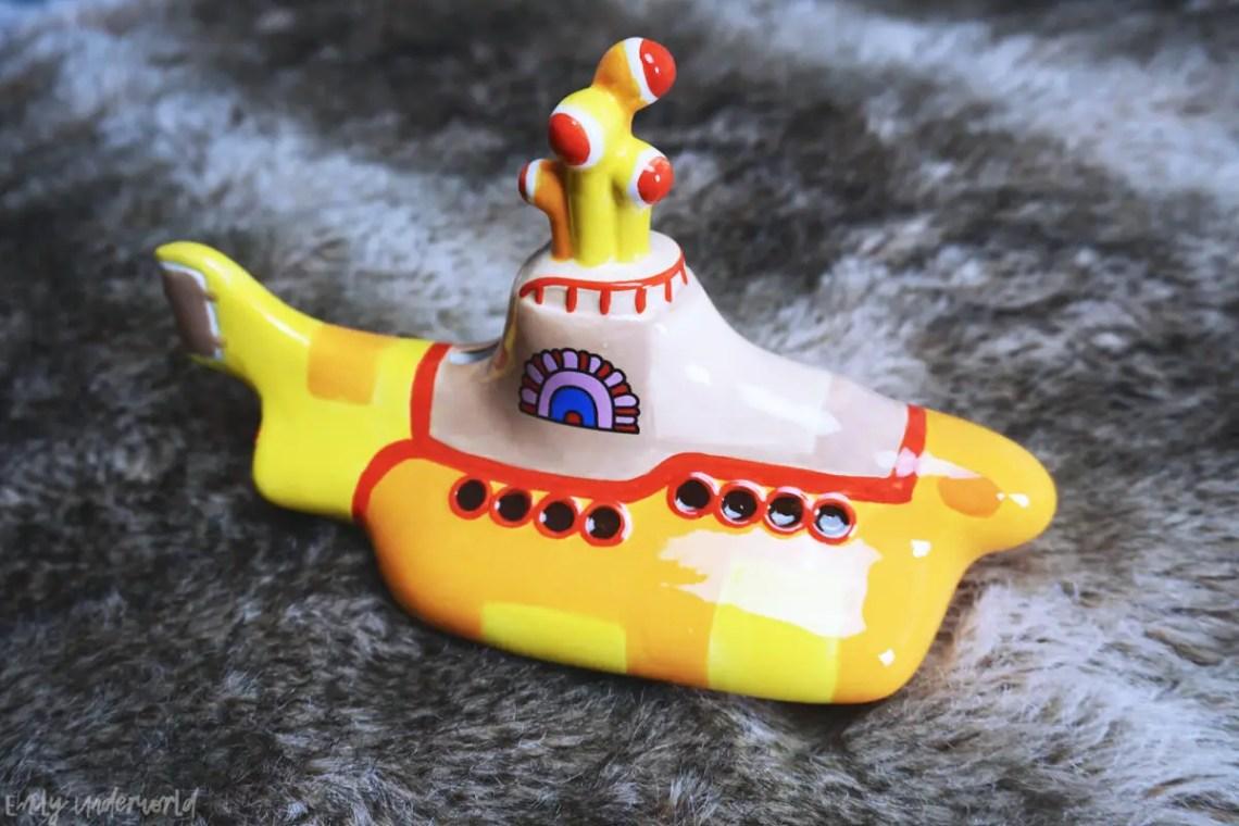 London Beatles Store Yellow Submarine Money Box
