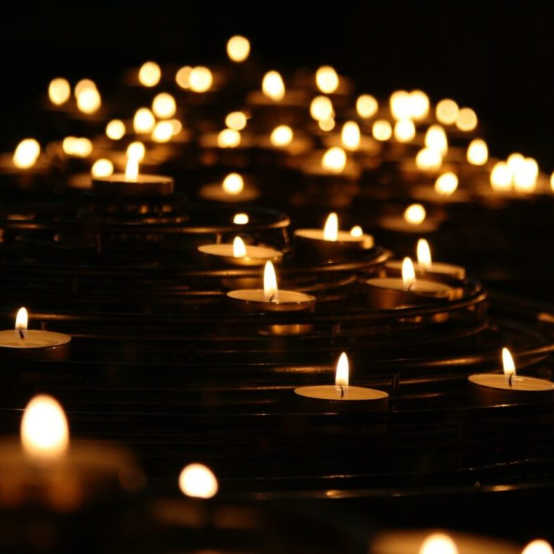 Candles. 5 Steps to Help Recover from Grief