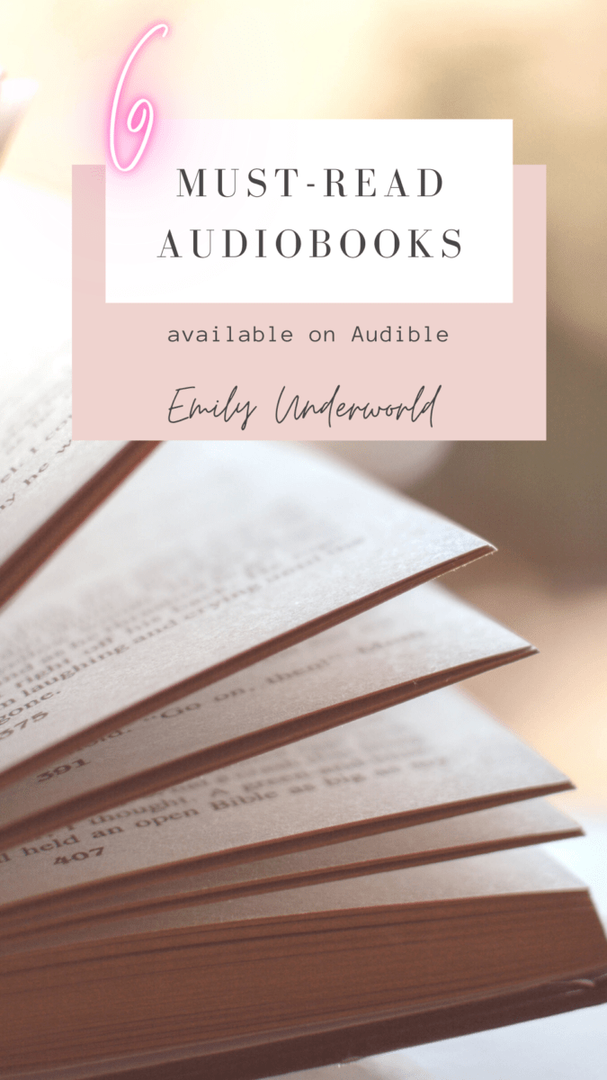 6 Brilliant Audible Books You Must Listen To