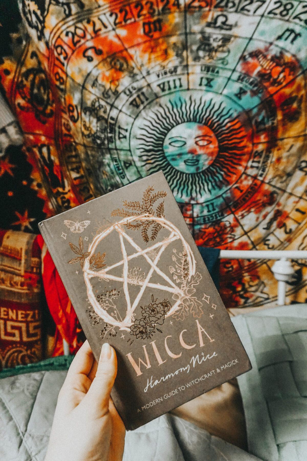 Wicca by Harmony Nice magick book for beginners.