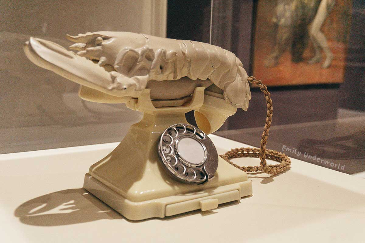 Dali Lobster Telephone Scottish National Gallery. Virtual Museum Gallery Tours You Can Take At Home