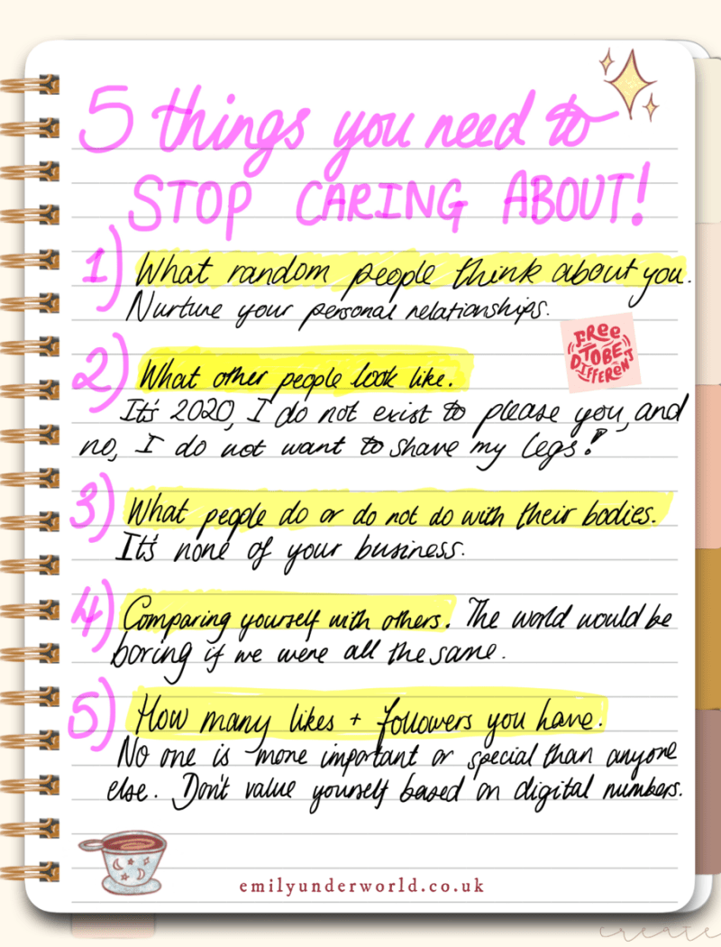 5 Things You Need To Stop Caring About Handwritten Journal Page.