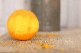 organic orange  zest
