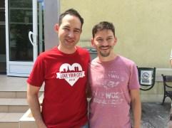 Kurt and Darijo, Novi Sad's worship pastor