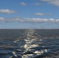 Ocean Animation, Frame 1