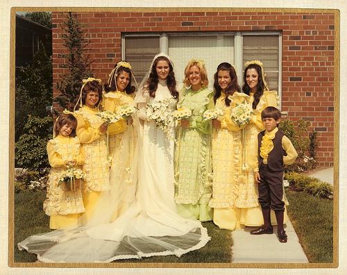 70s wedding