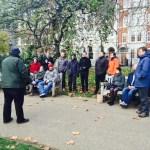 James Ashton speaking at Agile on the Bench
