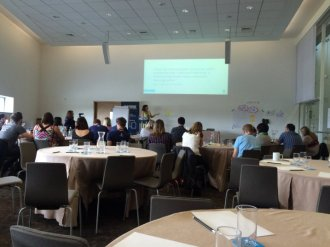Emily Webber at Agile Cymru