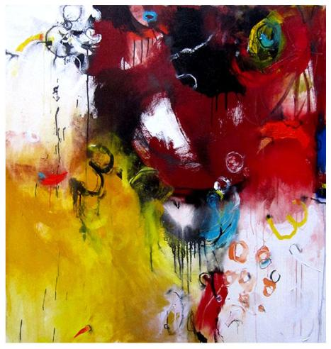 "acrylic on canvas | 51"" x 45"" | SOLD"
