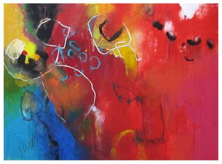 """acrylic on canvas   44"""" x 60""""   $3800 (stretched)"""