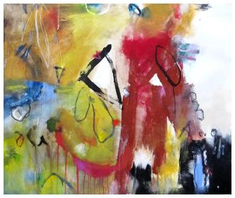 """acrylic on canvas (stretched) 