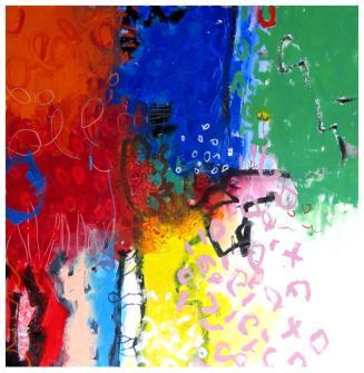 """acrylic on canvas   64"""" x 64""""   $5325"""