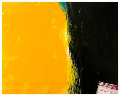"acrylic, oil pastel on claybord   10"" x 8""   $100"