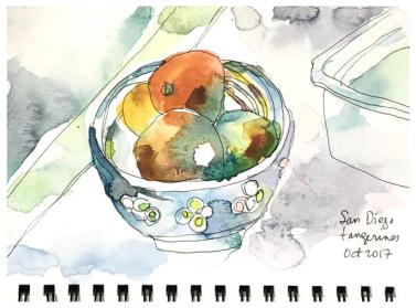 """watercolor sketch on paper   8.5"""" x 5.5"""""""