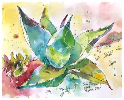 "watercolor, pen on paper | 8"" x 10"" | $100"