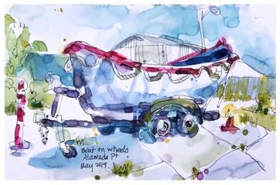 "watercolor, pen on paper | 5.5"" x 8.5"""