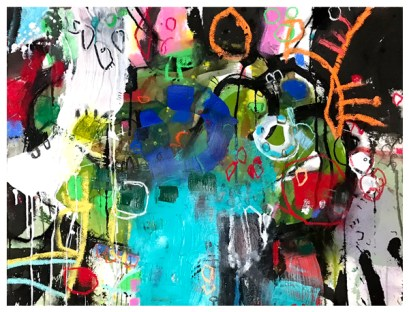 """watercolor, pastel, acrylic, India ink on paper 