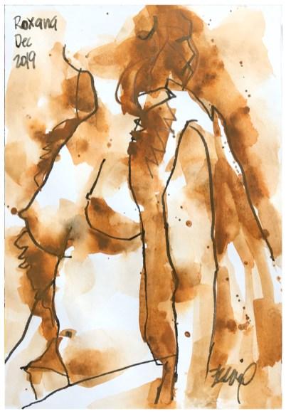 "artgraf graphite, pen on paper | 8"" x 6"" | $60"