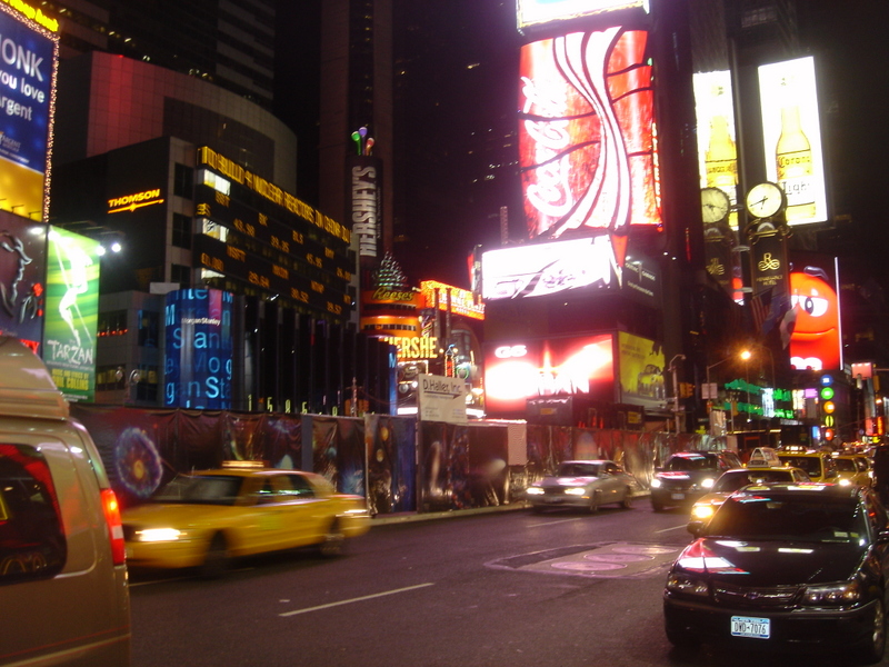 Times Square, Christmas Eve, 2006