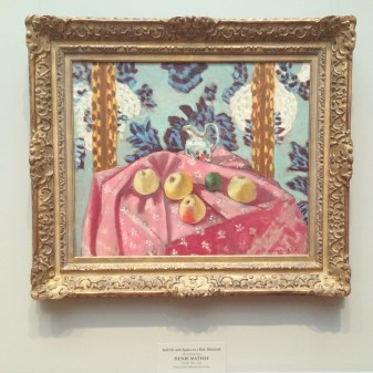 A painting by Matisse, I believe at the National Gallery of Art