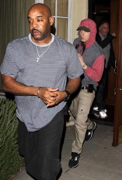 Eminem начинает промо в Лос-Анджелесе