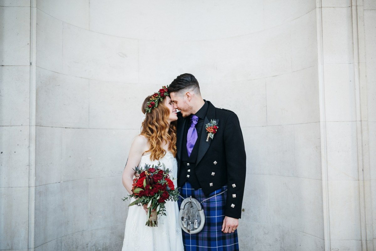 Cardiff Museum Wedding Photography