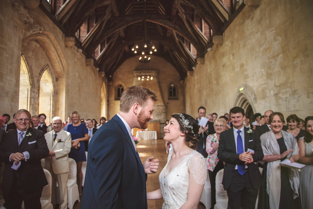 St Donats Castle wedding photography