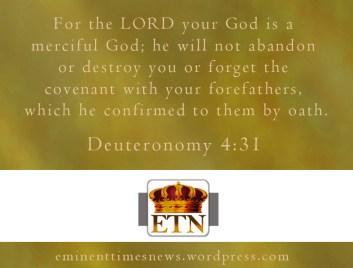 Deuteronomy4-31