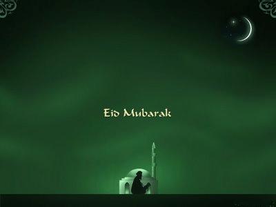 Eid Mubarak to my Muslim Friends!