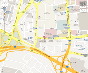 movenpick burdubai location map