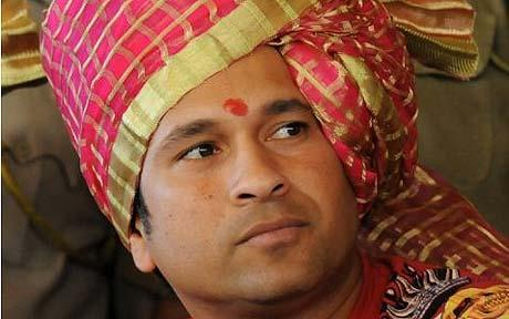 Sachin Tendulkar in Dubai on 09-06-2012
