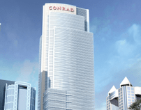 Conrad Hotel Dubai Open Day Walkin interview 23rd 24th November 2012
