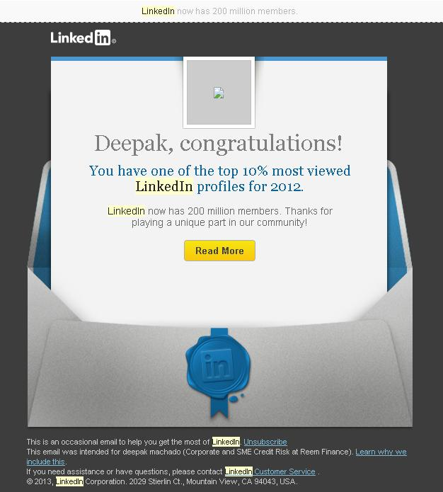 linkedin top 10