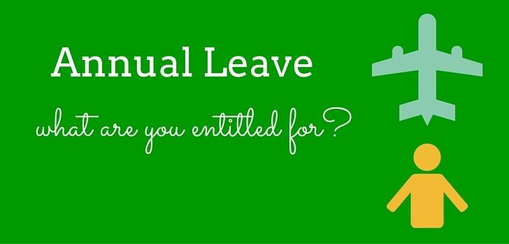Annual Leave as per UAE Labour Law