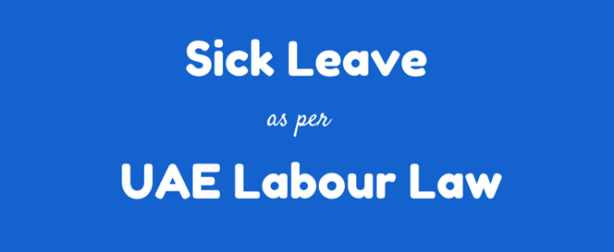 sick leave medical leave uae labour law