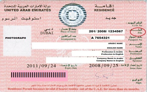 How to Renew a Residence Visa for Dependents – Wife, Children?