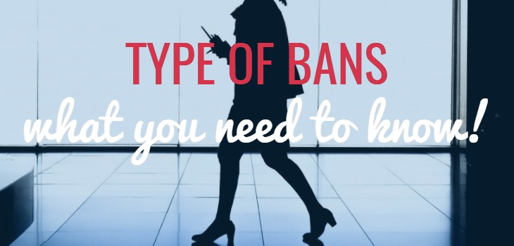 Types of Bans in UAE