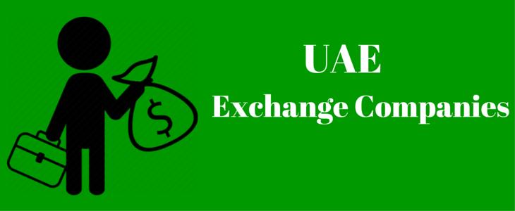 List of Forex Exchange Companies in UAE