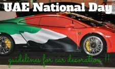 car decoration rules uae national day