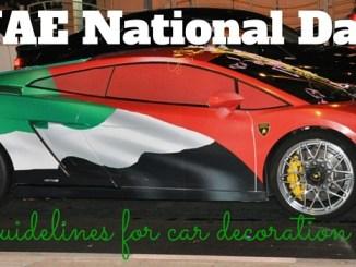 car decoration rules uae national day