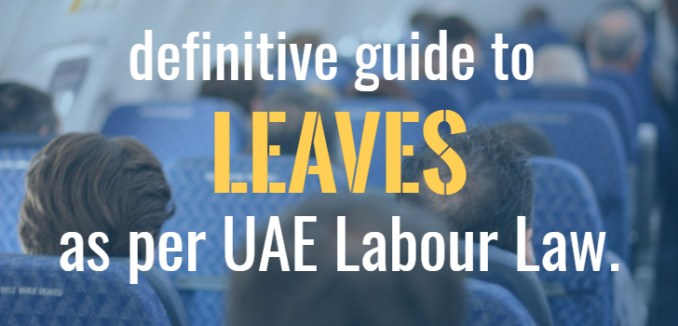 leaves under uae labour law