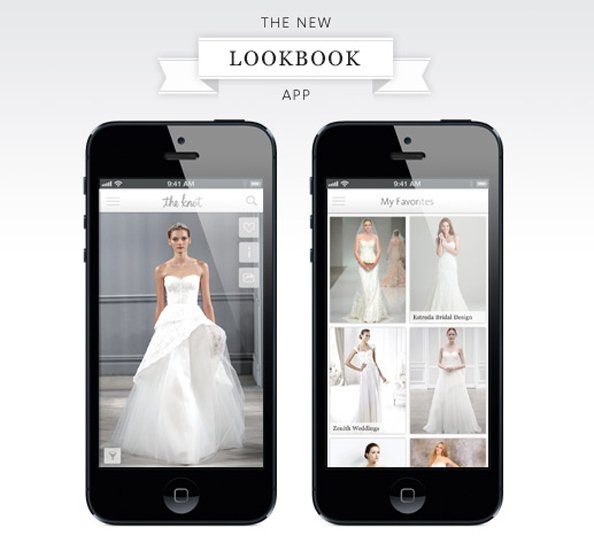 the knot wedding app