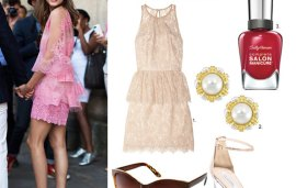 Get The Look | Olivia Palermo's Ladylike Lace