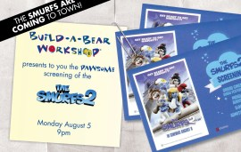 Win Tickets To See The Smurfs 2!
