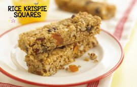 Food For Kids | Rice Krispie Squares