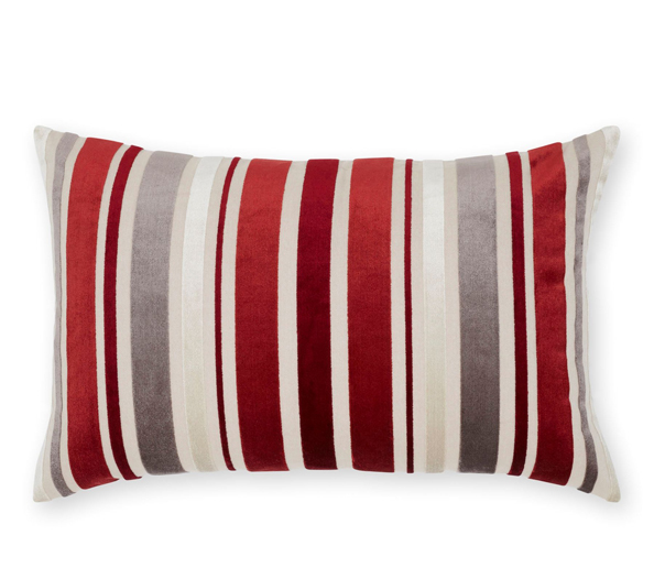 Striped velvet cushion Dhs156 Next